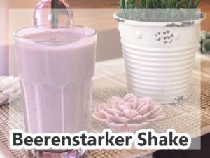 In der Stoffwechselkur, kann man seine Shakes super schmackhaft zubereiten!