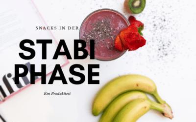 Low Carb Snacks – Was esse ich in der Stabilisierungsphase?